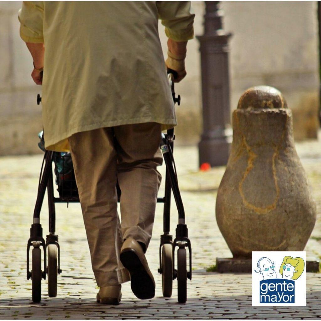 Los andadores para personas mayores